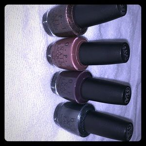 OPI Nail Lacquer ( Set of 4 )